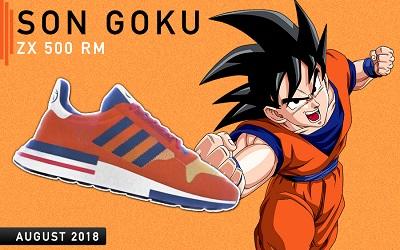 Modelo ZX 500 RM (BOOST) de Goku