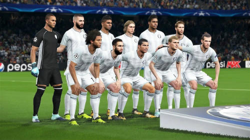 pes 2018 real madrid